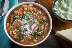 Slow Cooker Kale and White Bean Soup Recipe on Yummly. @yummly #recipe