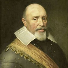 Jan Anthonisz. van Ravesteyn, Portret van een officier, ca. 1610 - ca. 1620 - Rijksmuseum Amsterdam (SK-A-4191)