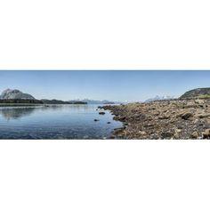 Low tide walk at beach Southeast Alaska Alaska USA Canvas Art - Panoramic Images (36 x 12)