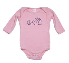 cd5e36227 19 Best Michigan Awesome Kids and Baby images | Babies clothes, Baby ...