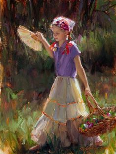 Fine Art and You: Bryce Cameron Liston   Children Paintings Series