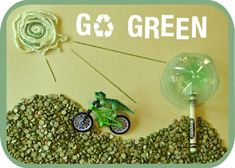 green activities & art projects for the whole family
