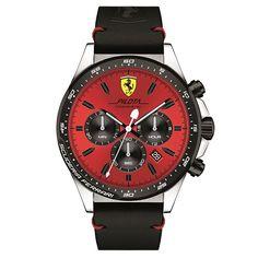 39da8556bc4 Relógio Scuderia Ferrari Masculino Couro Preto - 830387