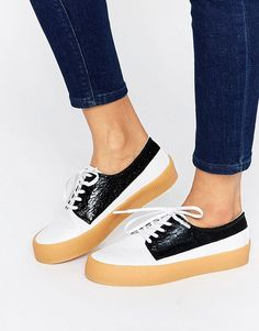 Image 1 of ASOS DRUMMER Lace Up Sneakers