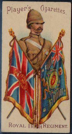 Players Military Series # 49 Royal Irish Regiment issued 1900   eBay