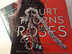 A Court of Thorns and Roses Inspired, OOAK Metal Book Mark, Summer Court/Tarquin Edition by TheWorldOfFandom on Etsy