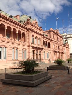 Casa Rosada (pink House) Buenos Aires   Argentina.