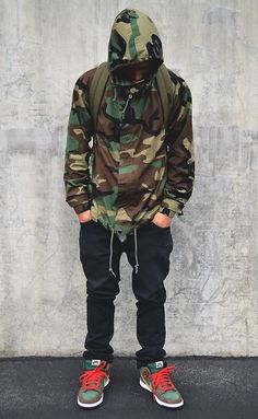Buy Fashion Sweatshirt Men Casual Loose Coat Camouflage Printed Hoodie at Wish - Shopping Made Fun Camo Hoodie, Camo Jacket, Jacket Men, Camouflage Jacket, Army Camouflage, Jacket Style, Hoodie Jacket, Mode Masculine, Men Street