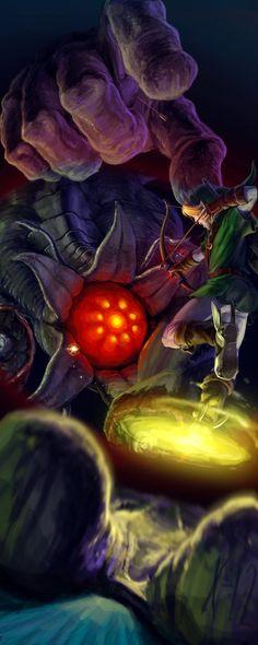 The Legend of Zelda: Ocarina of Time - Link vs Bongo Bongo