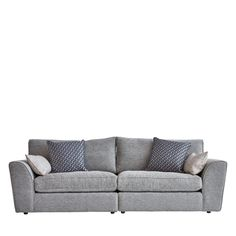 Curved arms and ample proportions combine in the Haughton living range, an invitingly spacious set ideal to add an air of capacious comfort to your home. Sofas, Love Seat, Arms, Range, Couch, Furniture, Design, Home Decor, Couches