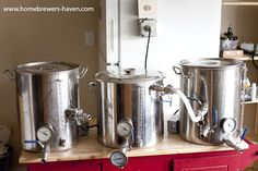 120v electric brewery