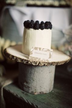 magical rustic wedding cakes and treats