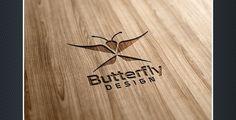 Butterfly Design Logo Templates Property Logo, Butterfly Design, Logo Templates, Logo Design, Logos, Bowtie Pattern, Logo