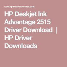 HP Deskjet Ink Advantage 2515 Driver Download   HP Driver Downloads