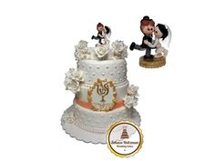 cake toppers Snow Globes, Cake Toppers, Wedding Cakes, Decor, Wedding Gown Cakes, Decoration, Cake Wedding, Decorating, Wedding Cake