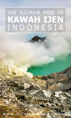 In the footsteps of the sulphur miners - Visiting the sulphur mine of Kawah Ijen, Java, Indonesia Countries To Visit, Places To Visit, Holiday Destinations, Travel Destinations, Travel Guides, Travel Tips, Brunei, Asia Travel, Southeast Asia