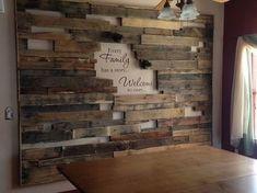 20 plus unique décoration murale en bois de palettes pour le salon, #decoration #murale #palettes #salon #unique