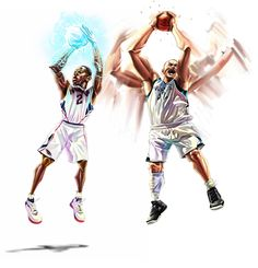 NBA stars5 by A-BB.deviantart.com on @deviantART