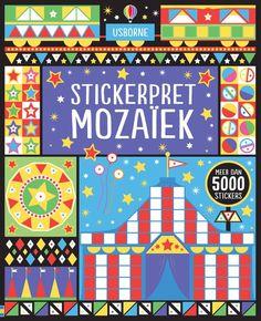 Usborne stickerboeken stickerpret mozaiek