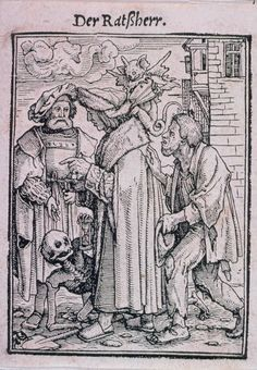Hans Holbein, the Younger (German, 1497 or 1498–1543) Dance of Death; The Magistrate | Museum of Fine Arts, Boston