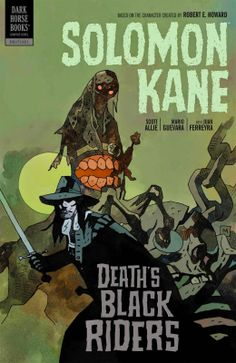Solomon Kane by Mike Mignola Cover to Solomon Kane vol. 2: Death's Black Riders