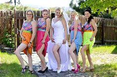 Rainbow braidsmaides
