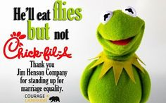 muppets-drop-chick-fil-a-support-lgbt-gay-marriage -- Boycott Chick-Fil-A.