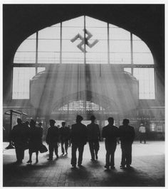 Post with 2260 views. A Nazi train station in Southern Germany. Cthulhu, Thule Society, Aryan Race, Berlin, It Goes Like This, Nazi Propaganda, Merry Christmas, The Third Reich, Alternate History