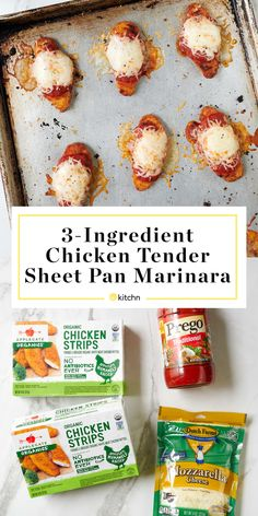 Chicken Marinara, Marinara Recipe, Marinara Sauce, Easy Chicken Recipes, Baby Food Recipes, Kid Recipes, Chicken Meals, Cheesy Chicken, Turkey Recipes