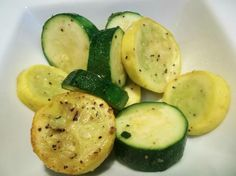 Making this for Nick tonight with Salmon.  Roasted Zucchini and Yellow (Summer) Squash. Photo by FLKeysJen