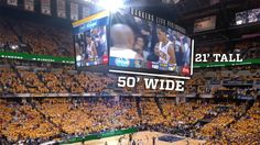 New video scoreboard coming soon to Bankers Life Fieldhouse.