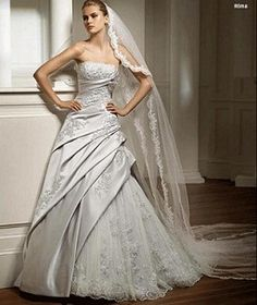 Vestidos de novia en bodas de plata