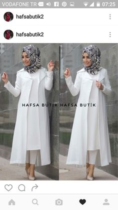 Turkish Fashion, Islamic Fashion, Muslim Fashion, Hijab Gown, Hijab Style Dress, Hijab Outfit, Western Dresses For Girl, Fashion Models, Girl Fashion