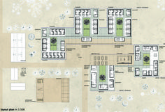 Masterplan © Nicole Rodlsberger Floor Plans, Diagram, Layout, How To Plan, Projects, Page Layout, Floor Plan Drawing, House Floor Plans
