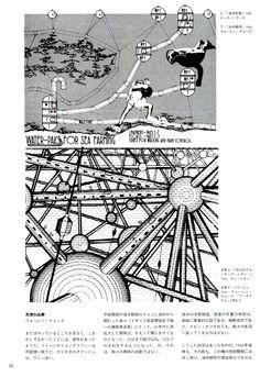 "Archigram ""Archigram"" Japan Edition Book, Kajima Shuppankai, 1999, P32"