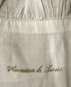 Object Name  Chemise  Date  ca. 1780