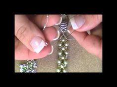 Montee Embellished Pearl Bracelet - YouTube