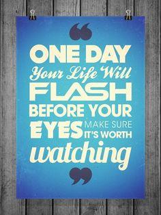 make sure it's worth watching