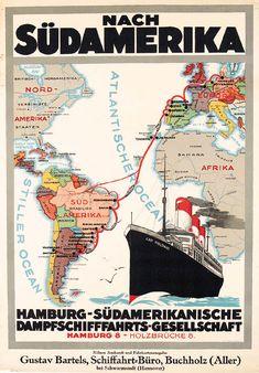 HSDG Hamburg Südamerikanische DG. Buque Cap Polonio (1914)