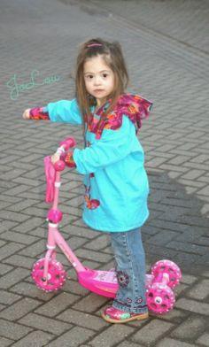Yetta, Hoodie für Kinder mit Down Syndrom von farbenmix genäht von JoLou