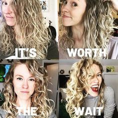 Texture Tales: Kristin on Realizing that Waves are Not Faile.- Texture Tales: Kristin on Realizing that Waves are Not Failed Curls Texture Tales: Kristin on Realizing that Waves are Not Failed Curls - Wavy Hair Care, Curly Hair Tips, Curly Hair Styles, Natural Hair Styles, Curly Wavy Hair, Natural Wavy Hairstyles, Medium Permed Hairstyles, Long Natural Curls, Products For Curly Hair