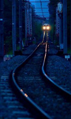 Night Train.. Tokyo, Japan