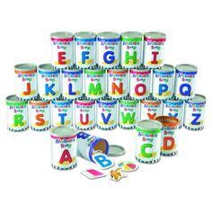 Learning Center Toys Alphabet Soup Sorters
