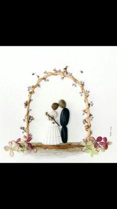 Pebble wedding