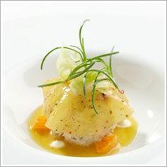 Chef's Recipes | chef Gavin Kaysen recipes for Spaghetti Nero and Peekytoe Crab Salad.