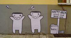 Street Art by Urben in Berlin, Germany