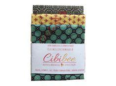 Cibibee - Méhviaszos élelmiszercsomagoló - S-M-L szett / 3 db
