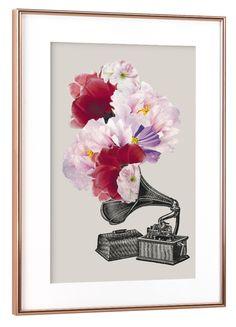 Blumophon by Amy & Kurt | Poster | artboxONE