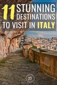 Discover 11 underrated places in Italy to all to your bucket kist. These destinations don't get as much hype as Rome or Florence, but are worth a visit. Italy Travel Tips, Rome Travel, Travel Europe, Usa Travel, Luxury Travel, Cool Places To Visit, Places To Travel, Travel Destinations, Things To Do In Italy