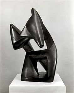 Archipenko Boxing sculpture